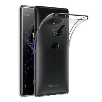 Sony Xperia XZ2 Ultra Thin Clear TPU Gel Case