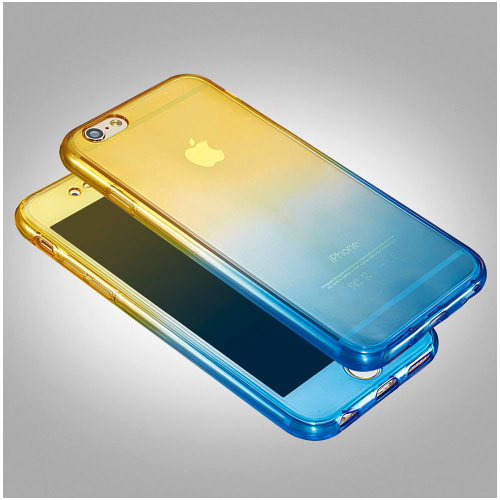 brand new 11efe 79461 iPhone 6 Plus / 6S Plus 360° Ultra Thin Shockproof TPU Gel Protective Case